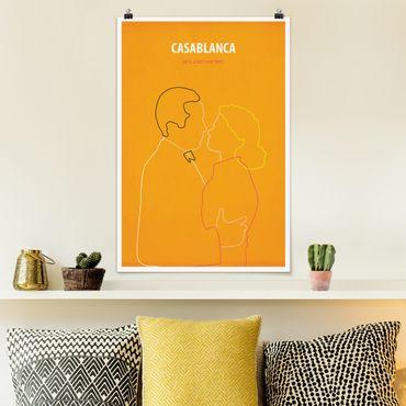 Poster - Film Poster Casablanca - Verticale 3:2