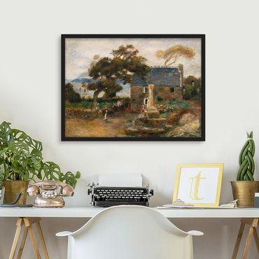 Poster con cornice - Auguste Renoir - Treboul - Orizzontale 3:4