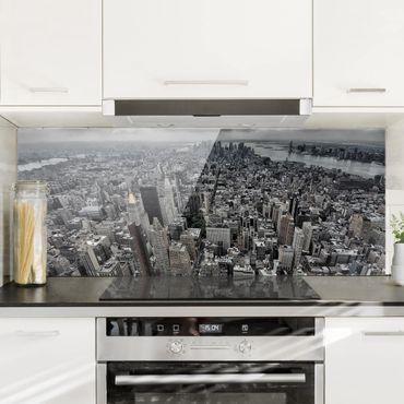 Paraschizzi in vetro - View Over Manhattan