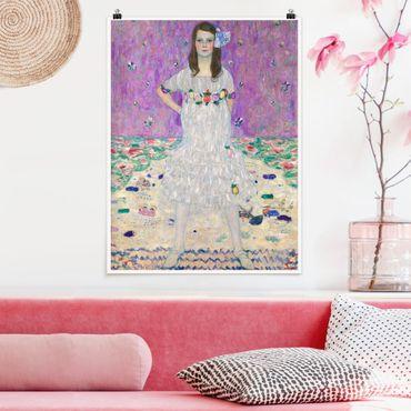 Poster - Gustav Klimt - Mada Primavesi - Verticale 4:3