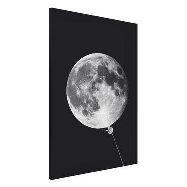 Lavagna magnetica - Balloon Con La Luna - Formato verticale 2:3