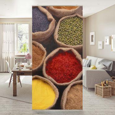 Tenda a pannello Colourful Spices 250x120cm
