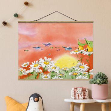 Foto su tessuto da parete con bastone - Il Lontano magico pony Fly - Orizzontale 3:4