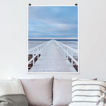 Poster - Ponte In Svezia - Verticale 4:3