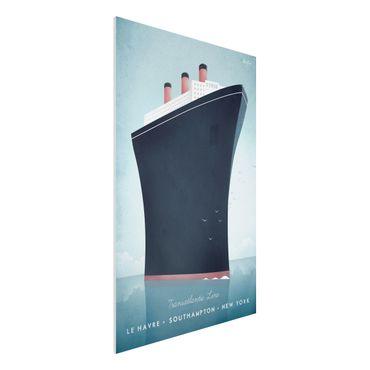 Stampa su Forex - Poster Viaggi - Nave da crociera - Verticale 3:2