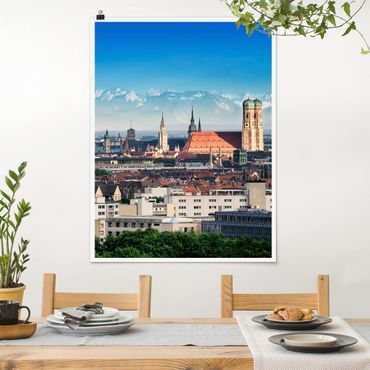 Poster - Monaco - Verticale 4:3