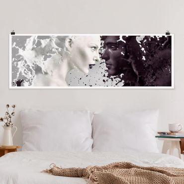 Poster - Milk & Coffee - Panorama formato orizzontale