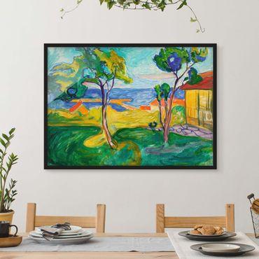 Poster con cornice - Edvard Munch - The Garden - Orizzontale 3:4