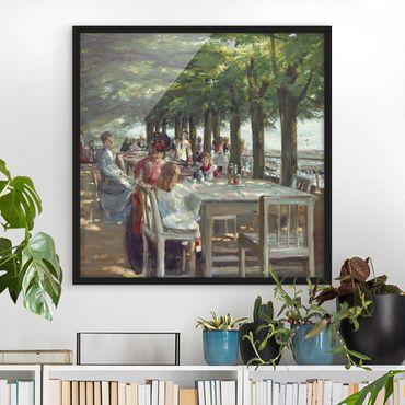 Poster con cornice - Max Liebermann - The Terrace Restaurant Jacob - Quadrato 1:1