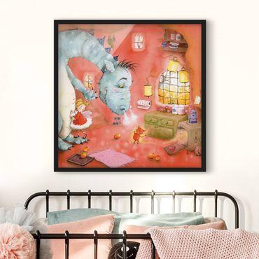 Poster con cornice - Procione Wassili - Mmm, mele al forno