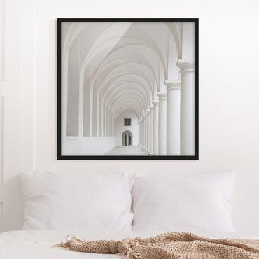 Poster con cornice - Arcades - Quadrato 1:1