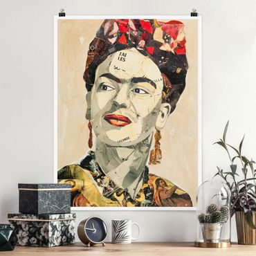 Poster - Frida Kahlo - Collage No.2 - Verticale 4:3