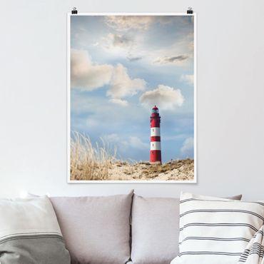 Poster - Faro nelle dune - Verticale 4:3
