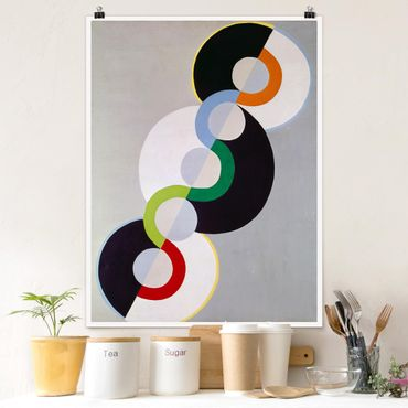 Poster - Robert Delaunay - Endless Ritmo - Verticale 4:3