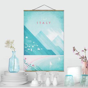 Foto su tessuto da parete con bastone - Poster di viaggio - Italia - Verticale 3:2