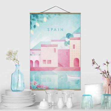 Foto su tessuto da parete con bastone - Poster di viaggio - Spagna - Verticale 3:2