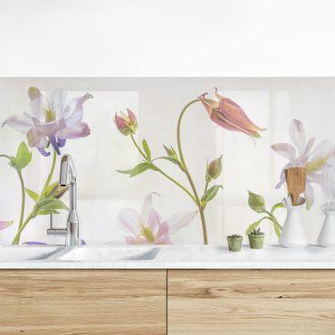 Rivestimento cucina - Foresta floreale