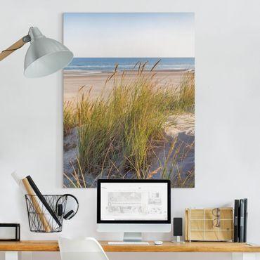 Stampa su tela - Beach Dune Al Mare - Verticale 4:3