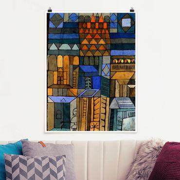Poster - Paul Klee - fresco incipiente - Verticale 4:3