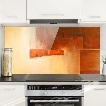 Paraschizzi in vetro - Petra Schüßler - Balance Orange Brown