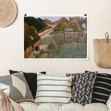 Poster - Otto Modersohn - Alt-Worpswede - Orizzontale 2:3