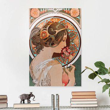Quadro in vetro - Alfons Mucha - Primrose - Verticale 3:2