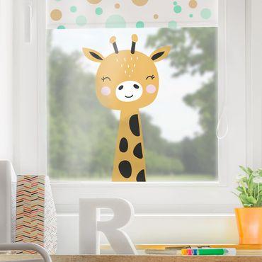 Adesivi da finestra - Baby Giraffe