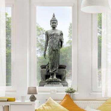 Adesivi da finestra Buddha Statue