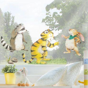 Adesivi da finestra - Il piccolo tigrotto - Friends Set
