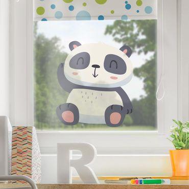 Adesivi da finestra - Sweet Panda