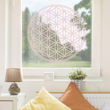 Adesivo per finestre - Flower of Life