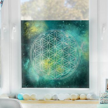 Decorazione per finestre Flower of Life