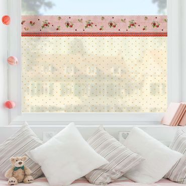 Decorazione per finestre - The Strawberry Fairy - Strawberry Pattern