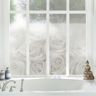 Decorazione per finestre White Roses