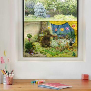 Decorazione per finestre - Il piccolo tigrotto - Birthday Party