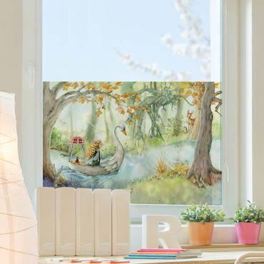 Decorazione per finestre - Lilia - The Swan Boat