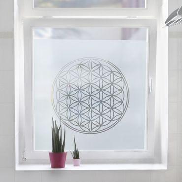 Pellicole per vetri - Flower of Life
