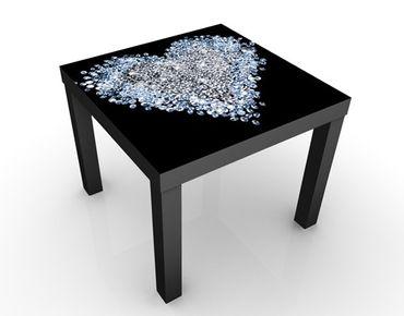 Tavolino design Diamond Heart