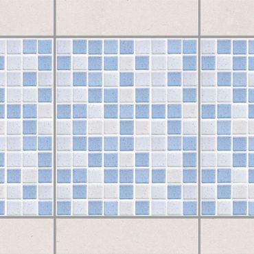 Adesivo per piastrelle - Mosaic Tiles Light Blue 20x25 cm