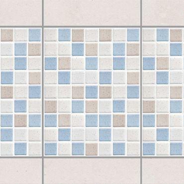 Adesivo per piastrelle - Mosaic Tile Sea Sand 15x20 cm