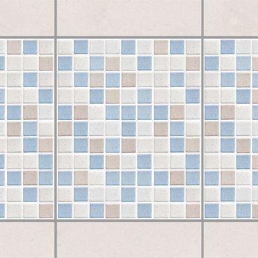 Adesivo per piastrelle - Mosaic Tile Sea Sand 20x25 cm