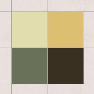 Adesivo per piastrelle - Colour Set Autumn 20cm x 15cm