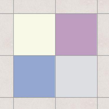 Adesivo per piastrelle - Colour Set Wintertime 20cm x 15cm