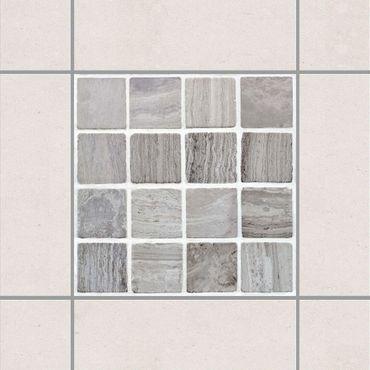 Adesivo per piastrelle - Mosaic Tiles Marble Look 10x10 cm