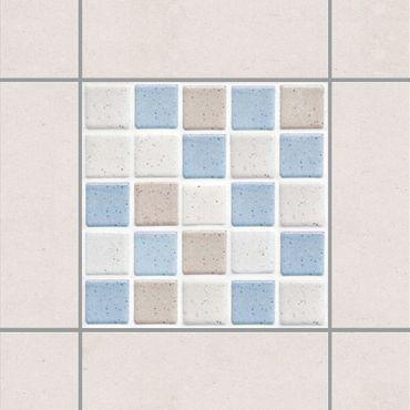 Adesivo per piastrelle - Mosaic Tile Sea Sand 10x10 cm