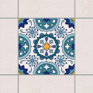 Adesivo per piastrelle - Portuguese Azulejo tile 10cm x 10cm