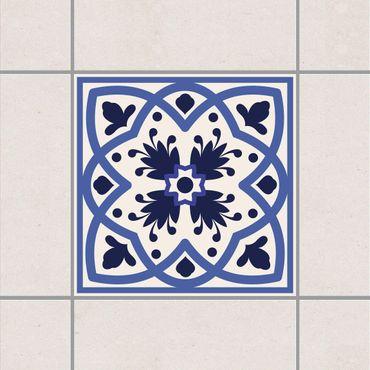 Adesivo per piastrelle - Portuguese tile white 10cm x 10cm