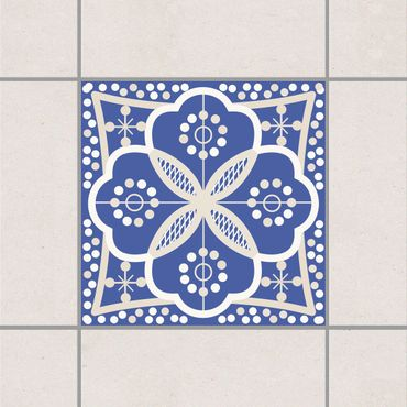 Adesivo per piastrelle - Portuguese wall tile 10cm x 10cm