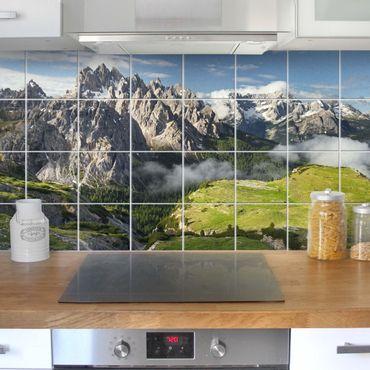 Adesivo per piastrelle - Italian Alps