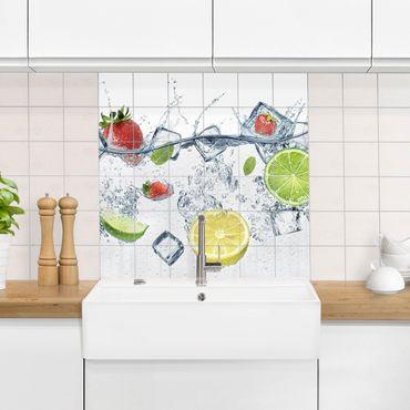 Adesivo per piastrelle - fruit cocktail